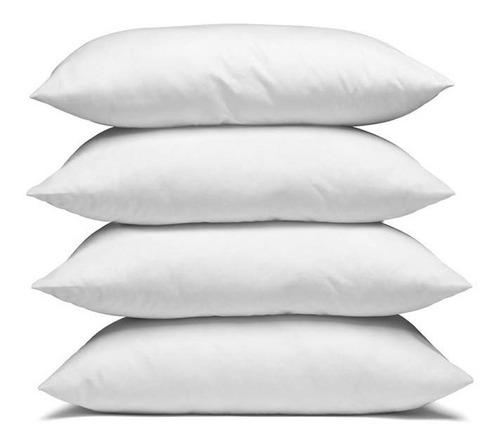 combo 4 almohadas siliconadas 40x60 cm