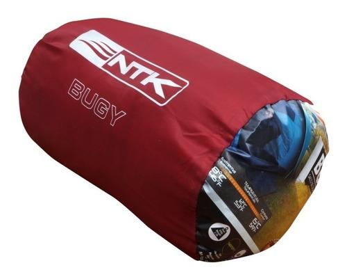 combo 4 bolsas de dormir ntk + 4 aislantes termicos