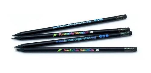 combo 4 eco lápices - fundación garrahan
