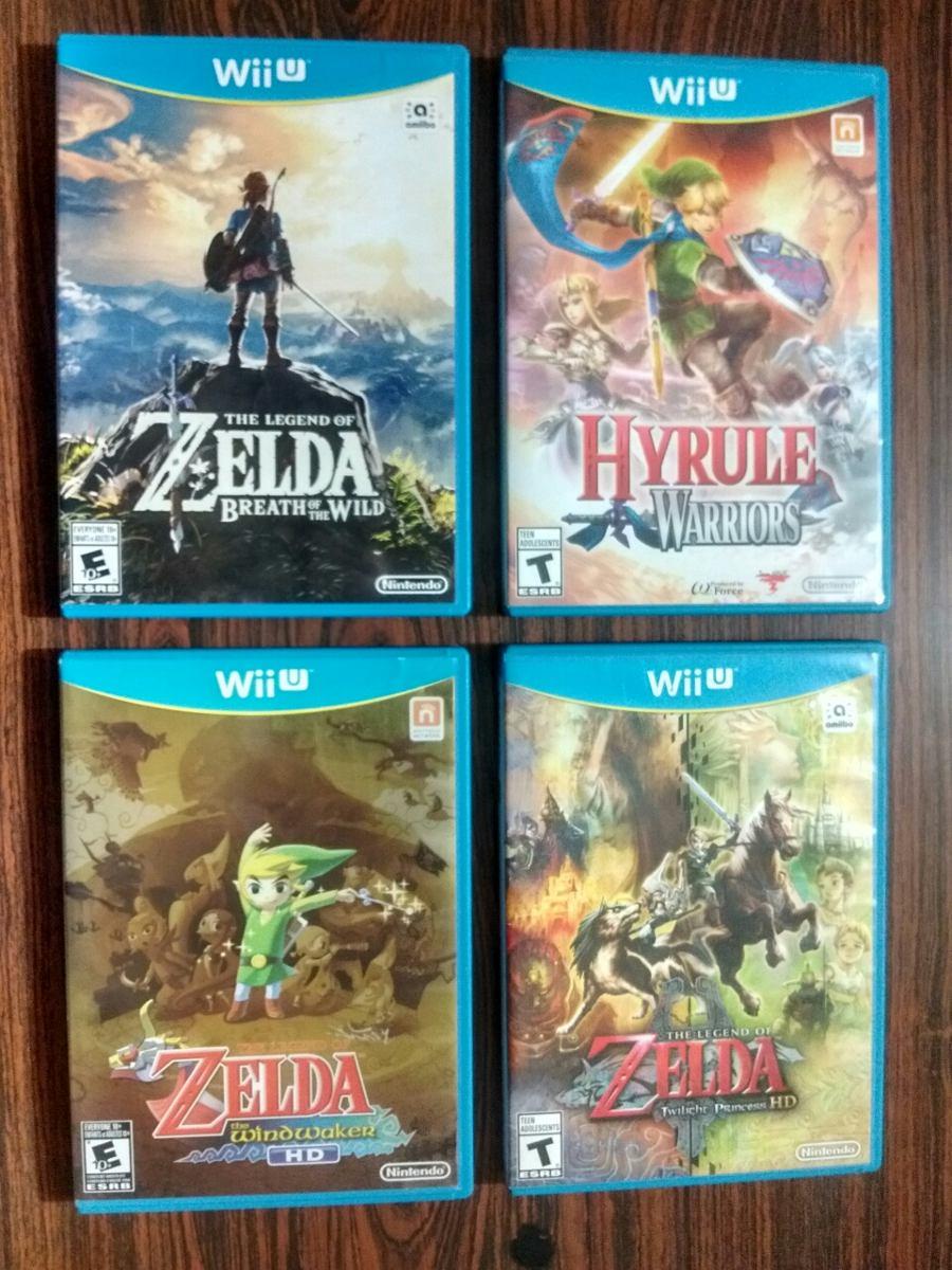 Combo 4 Juegos De Zelda Para Wiiu 420 000
