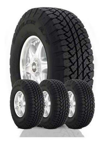 combo 4 neumáticos 255/70 r16 111t dueler at 693 bridgestone