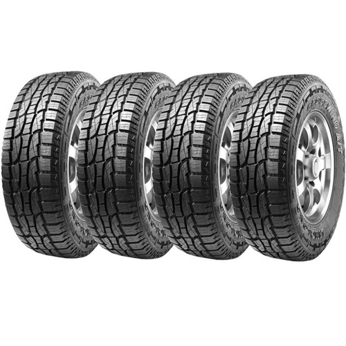 combo 4 pneus ecosport 205/65r15 crosswind a/t  atr linglong