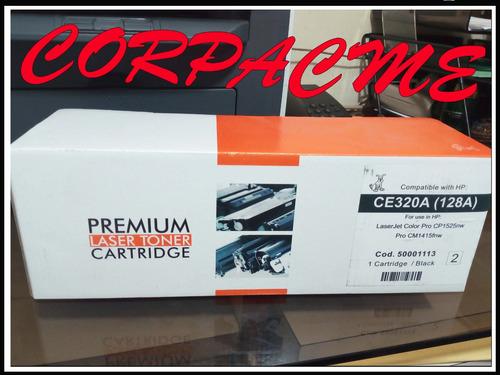 combo 4 toner premium hp cp1525nw ce320123a color 128a