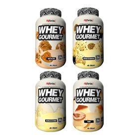 Combo 4 Und Whey Gourmet 900g Fn = 3.6kg (best Whey)