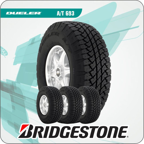 combo 4u 255/70 r16 111t dueler at 693 bridgestone