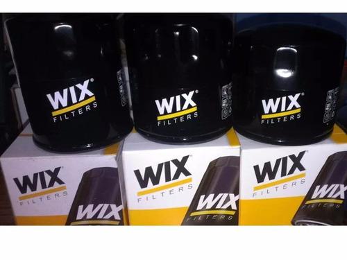 combo 5 filtros de aceite chevrolet  wix 51060 r