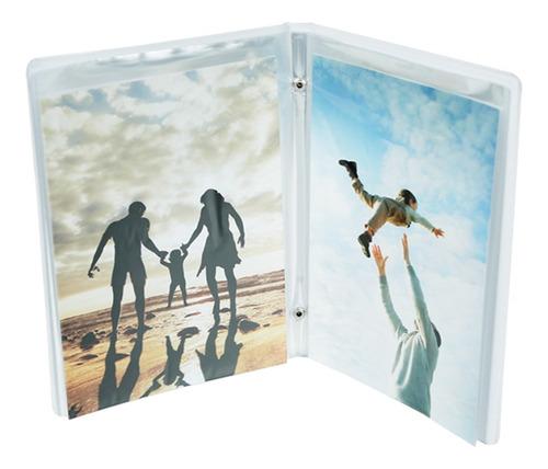 combo - 8 álbuns para 40 fotos 15x21cm cores sortidas