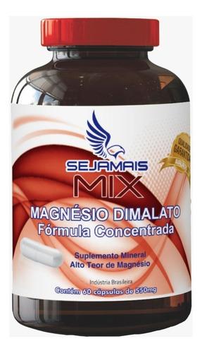 combo 8 magnésio dimalato 550 mg frete gratis - dr.lair