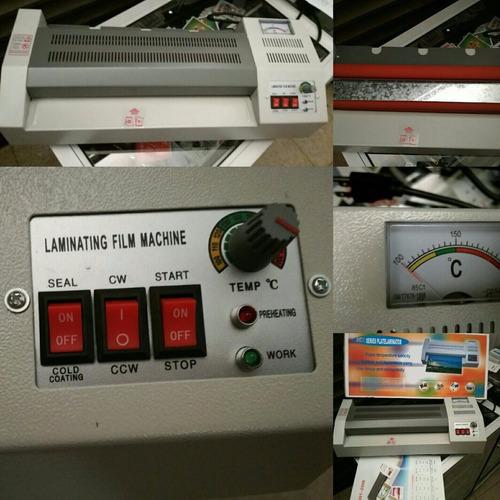 combo a4 plastificadora anilladora guillotina 3 maquinas f4