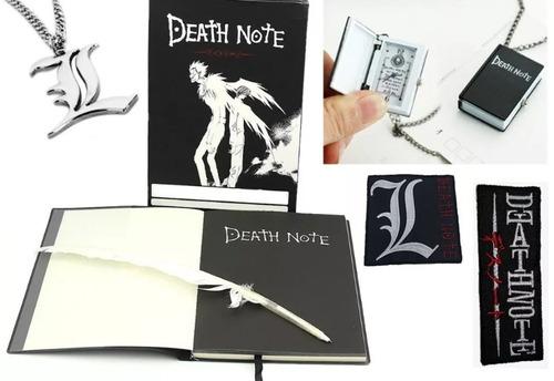 combo accesorios death note