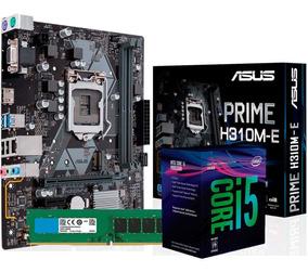 Combo Actualización Asus Intel I5 8400 H310m-e Prime 8gb