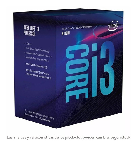 combo actualización intel i3 9100f -  mother h310 8gb ddr4