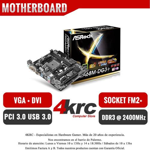 combo actualización pc amd a4 7480 mother a68 vga 4gb mother
