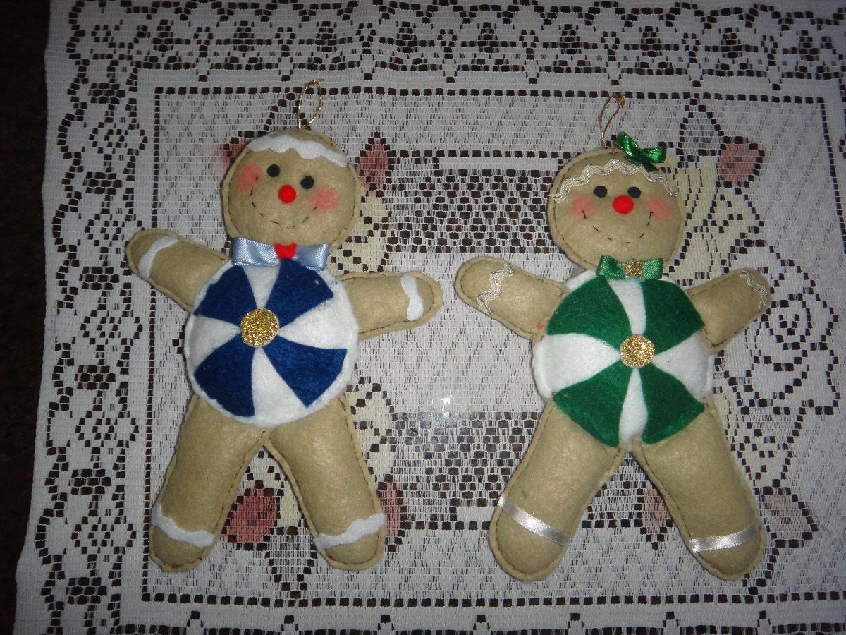 8eb930712912f combo adornos navideños para arbol galletas de jengibre. . Cargando zoom.
