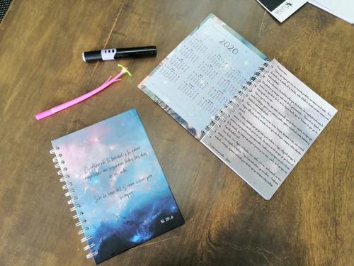 combo agenda + planeador 2020