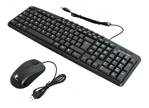 combo alambrico teclado+mouse star tec st-cb-71 multimedia n