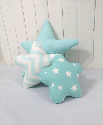 combo almohadon estrellas