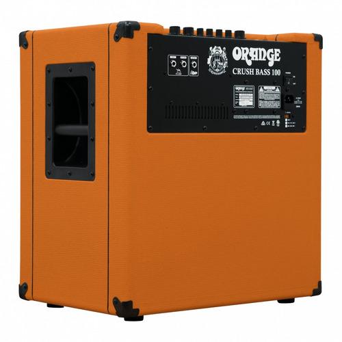 combo amplificador bajo orange crush bass 100 + garantía