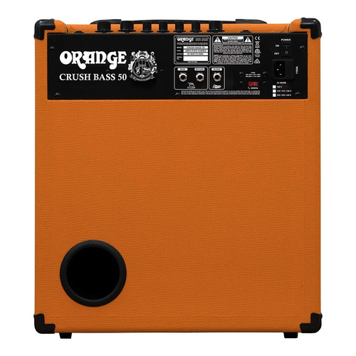 combo amplificador bajo orange crush bass 50 + garantía