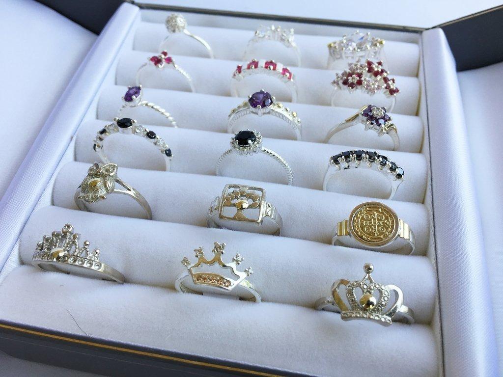 732ed91a26ef combo anillos plata y oro precio mayorista. Cargando zoom.