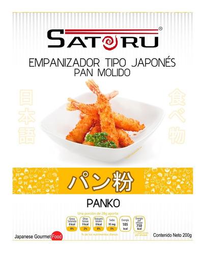 combo arroz para sushi, nori, vinagre de arroz, soya, panko,
