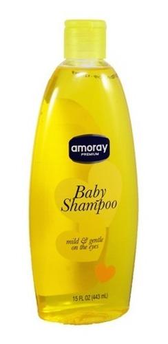 combo aseo: shampoo baby+aceite+copitos y set de algodón