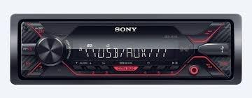 combo auto radio sony dsx-a110u + parlantes philips 5'
