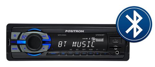 combo auto radio sp2310bt + parlantes 6'' pioneer mp3 usb