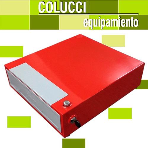 combo balanza moretti market 30 kg + gaveta dinero 4 div