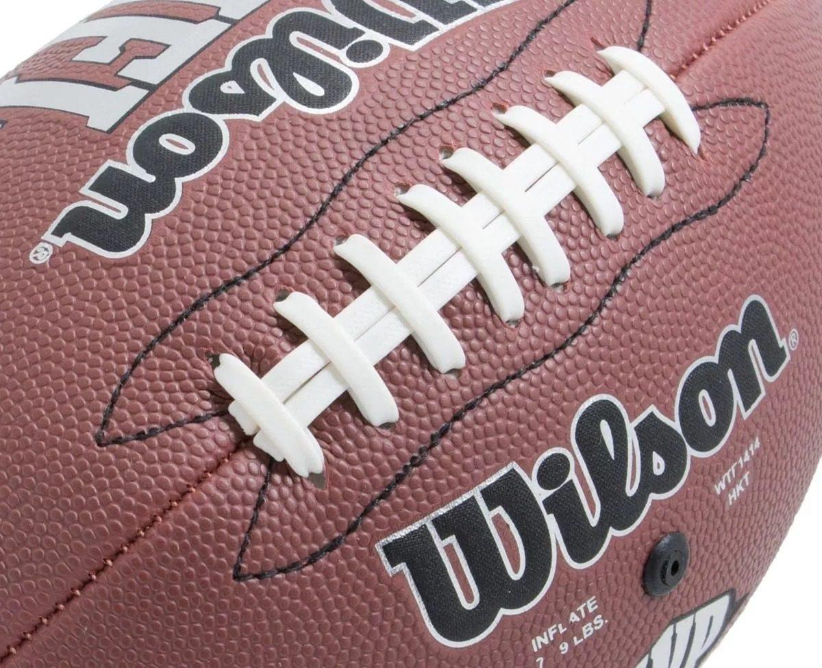 combo balon futbol americano wilson nfl junior con bomba. Cargando zoom. 64ae47ed14b