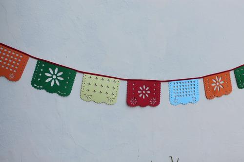 combo banderín mexicano x 10 unidades