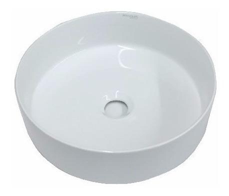 combo baño bacha redonda + griferia abiss hidromet de pared