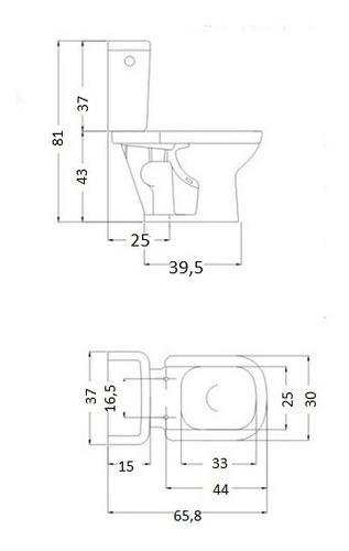 combo bari ferrum bidet + inodoro largo + deposito mochila primera calidad sin fallas baño completo ahora 12 y 18