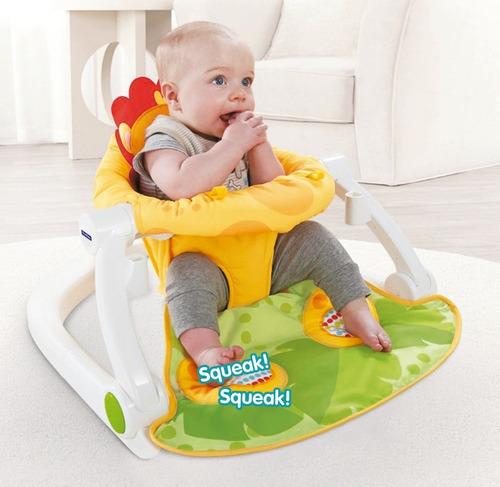 combo bebe cuna practicuna avanti + silla de comer + velador