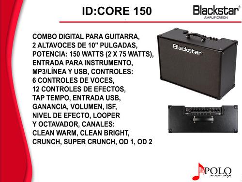 combo blackstar p/guitarra id:core-150