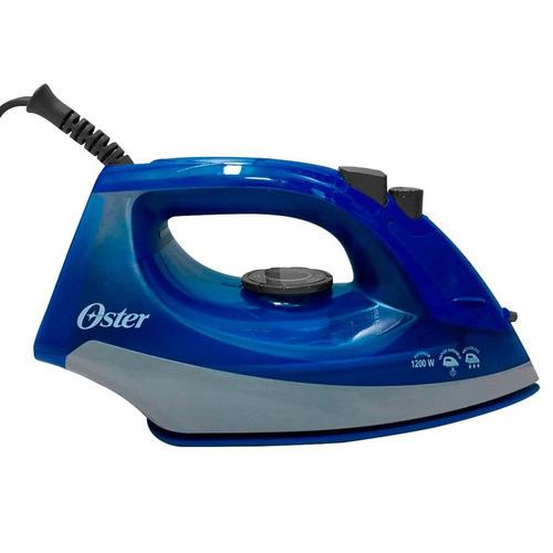 combo blue pack: licuadora y plancha de color azul oster