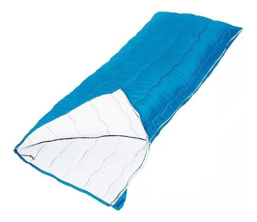 combo bolsa dormir -5°c + aislante linterna kit bolso rancho
