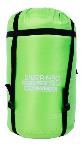 combo bolsa waterdog momia sherpa 450 -12° + aislante local