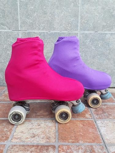 combo bolso de patin artistico cajon + cubre bota - oferta -
