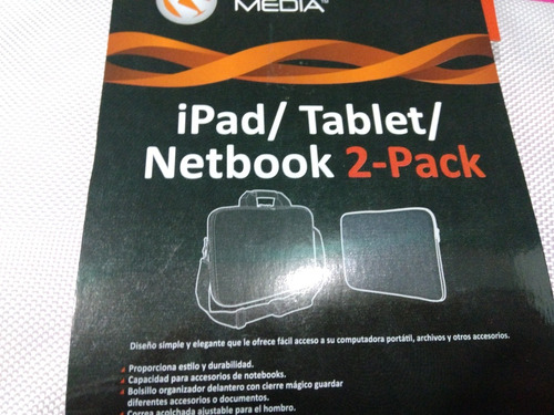 combo bolso mini laptop, forro ipad , tablet