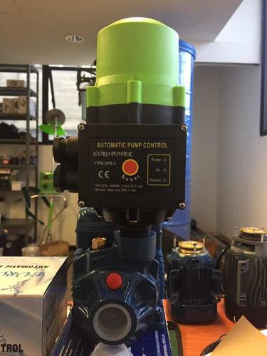 combo bomba pedrollo 1/2 hp y press control dps-3, euro 110v