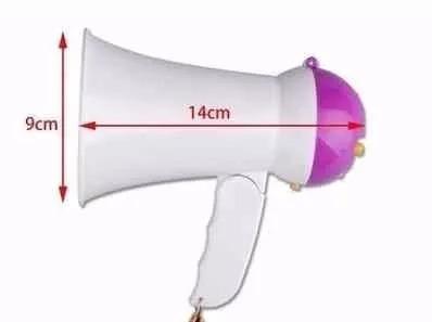 combo botella termica engomada + megafono deportvo musica