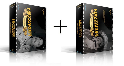 combo box mazzaropi vol 2  + box mazzaropi vol 1