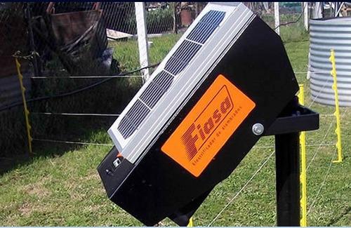 combo boyero solar 20km + 100 aisladores + rollo 750mts hilo