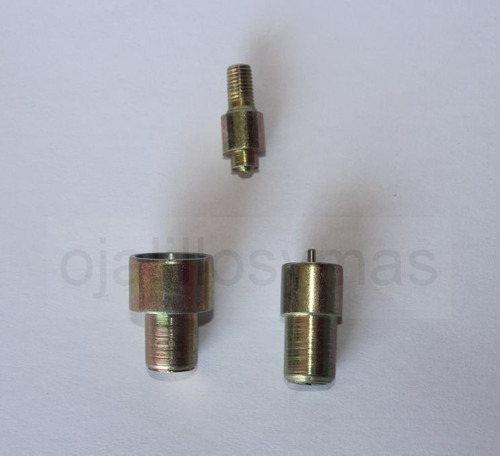 combo broche suizo metalico 40/20 x 200 + matriz 40/20
