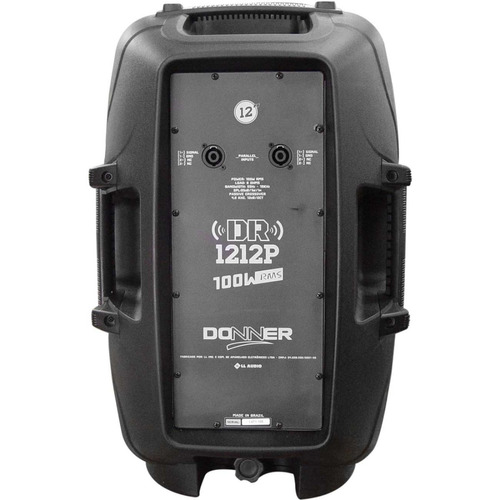 combo-caixas passivas ll audio donner dr 1212p - maxcomp