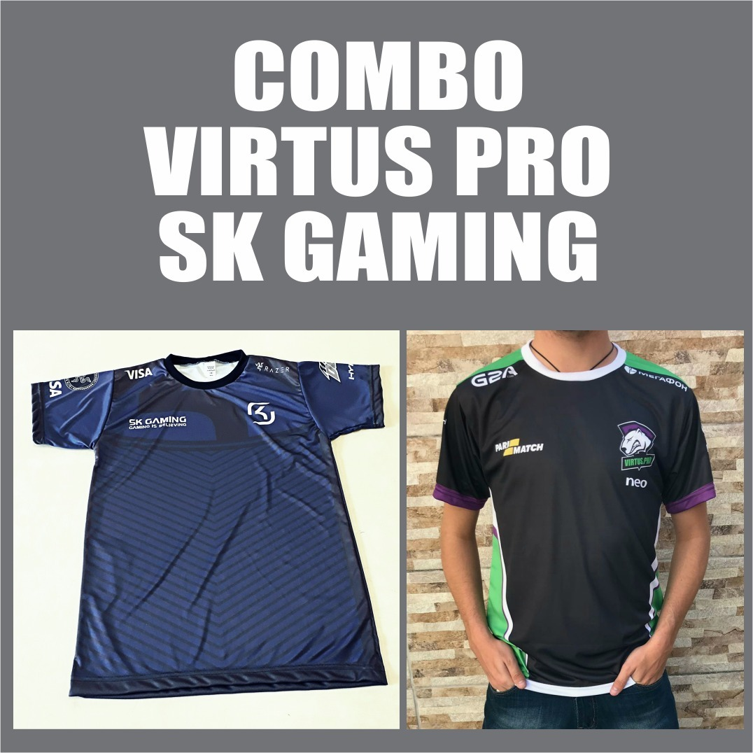 combo camisas sk + vp. Carregando zoom. 335fee17df0c8