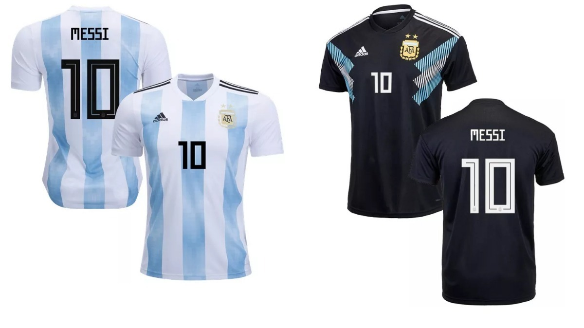 combo camiseta argentina messi titular y suplente 2 unidades. Cargando zoom. 26767467cb495