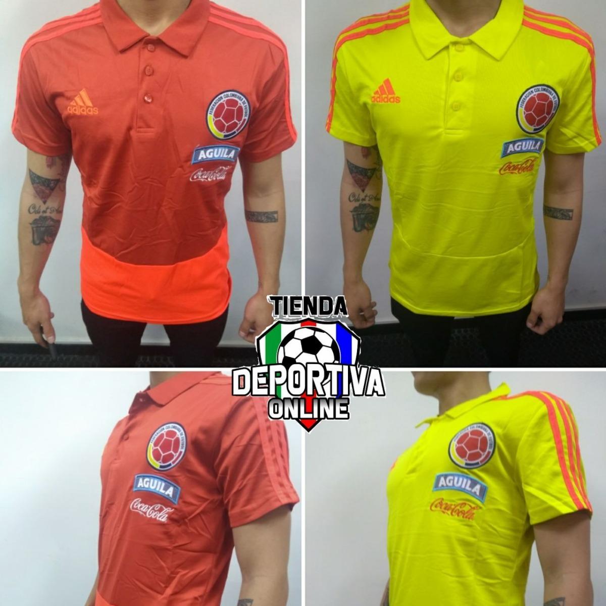9d51132b0 Combo Camiseta Tipo Polo Seleccion Colombia Amarilla Y Roja -   70.000 en Mercado  Libre