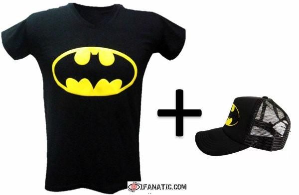 Combo Camiseta Y Gorra Batman -   38.900 en Mercado Libre c713976edc2